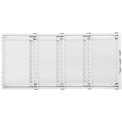 Picture of North States 22 In. to 62 In. W. White Plastic Extra Wide Pet Gate