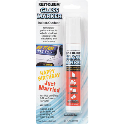 Picture of Rust-Oleum 2/3 Oz. White Window Paint Marker
