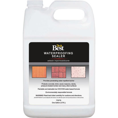 Picture of Do it Best Clear Water-Based Waterproofing Sealer, 1 Gal.