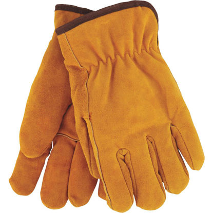 Picture of Do it Men's Medium Lined Leather Winter Work Glove