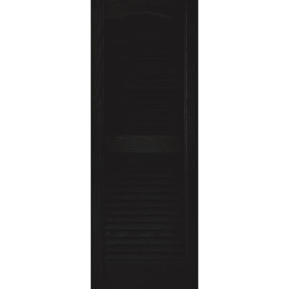 Picture of Builders Edge 15 In. x 39 In. Vinyl Louvered Shutter, (2-Pack)