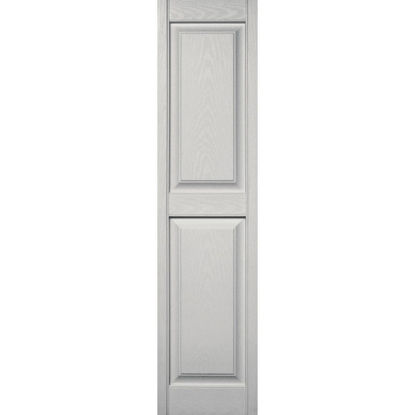 Picture of Builders Edge 15 in. x 59 in. Paintable Panel Shutter, (2-Pack)