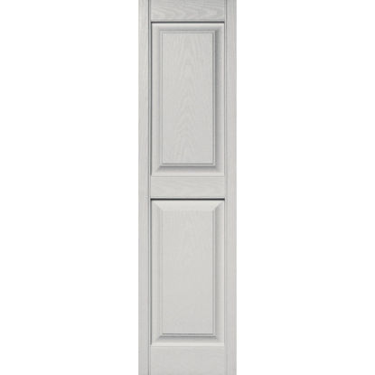 Picture of Builders Edge 15 in. x 55 in. Paintable Panel Shutter, (2-Pack)