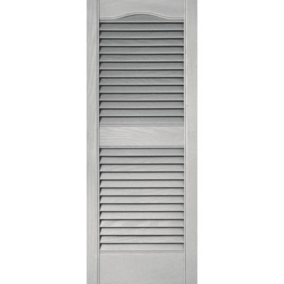 Picture of Builders Edge 15 In. x 36 In. Vinyl Louvered Shutter, (2-Pack)