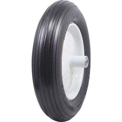 Picture of Marathon 16 x 480/400-8 In. Flat Free Wheelbarrow Wheel