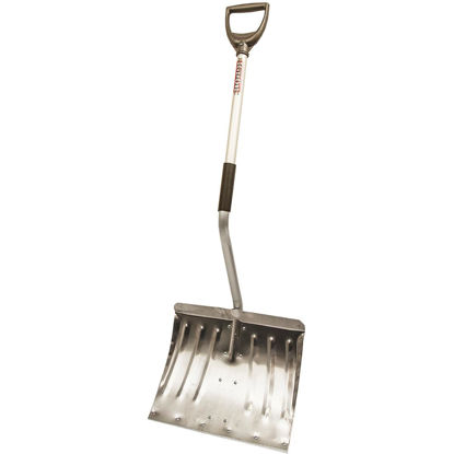 Picture of Rugg Back-Saver Lite-Wate 18 In. Aluminum Snow Shovel with 37 In. Aluminum Handle