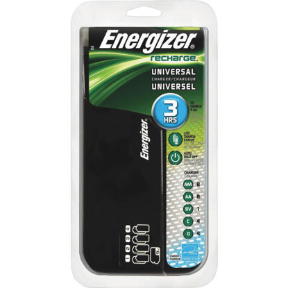 Picture of Energizer (8) AA, (8) AAA, (4) C, (4) D, (1) 9V NiMH Recharge Universal Battery Power Station