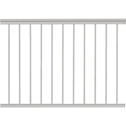 Picture of Gilpin Summit 36 In. H. x 4 Ft. L. White Aluminum Railing