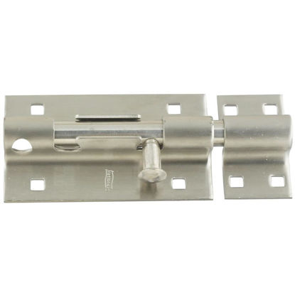 Picture of National 5 In. Stainless Steel Door Barrel Bolt