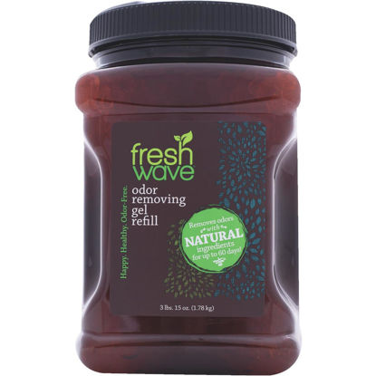 Picture of Fresh Wave 64 Oz. refill Unscented Gel Air Freshener