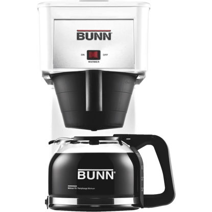 Picture of Bunn Velocity Brew GR White 10 Cup Glass Carafe Coffee Brewer