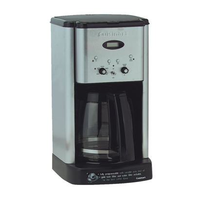 Picture of Cuisinart 12 Cup Programmable Stainless Steel Coffee Maker