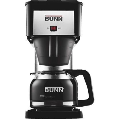 Picture of Bunn Velocity Brew BX Black 10 Cup Glass Carafe Coffee Brewer