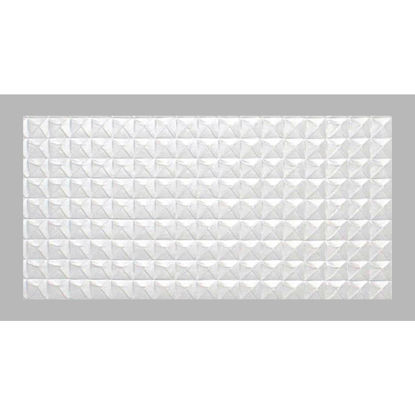 Picture of Parkland Performance SpectraTile Millennium 2 Ft. x 4 Ft. White PVC Diamond Pyramid Suspended Ceiling Tile