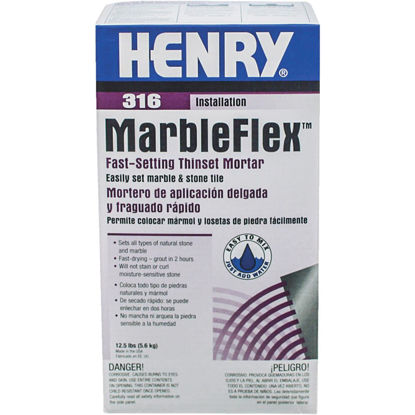 Picture of Henry Marbleflex 12-1/2 Lb White Mortar Mix