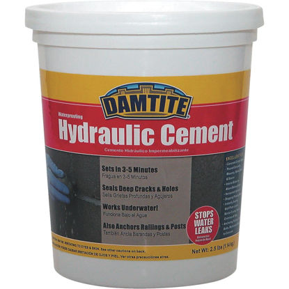Picture of Damtite 3 Lb Tub Hydraulic Cement