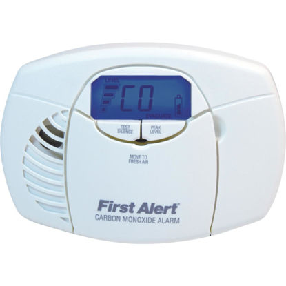 Picture of First Alert Battery Operated 3V Electrochemical Digital Display Carbon Monoxide Alarm