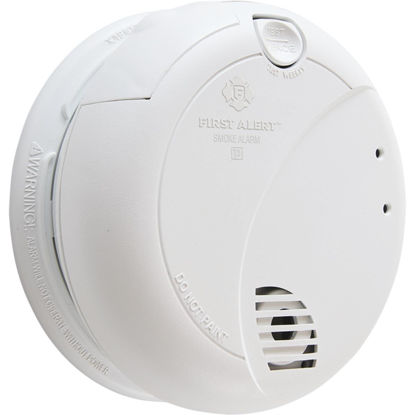 Picture of First Alert Plug-In 120V Photoelectric Smoke Alarm with Battery Back-Up