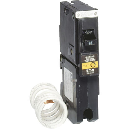 Picture of Eaton BR 15A Single-Pole CAFCI Combination Arc Fault Breaker