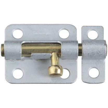 Picture of National 2-1/2 In. Galvanized Steel Door Barrel Bolt
