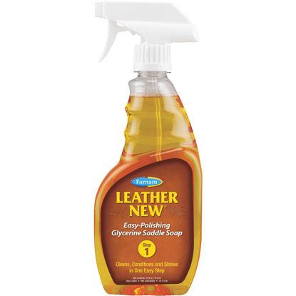 Picture of Farnam Leather New 16 Oz. Trigger Spray Liquid Glycerine Saddle Soap