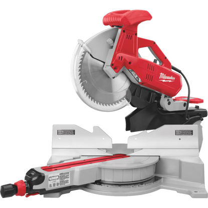 Picture of Milwaukee 12 In. 15-Amp Dual-Bevel Sliding Compound Miter Saw