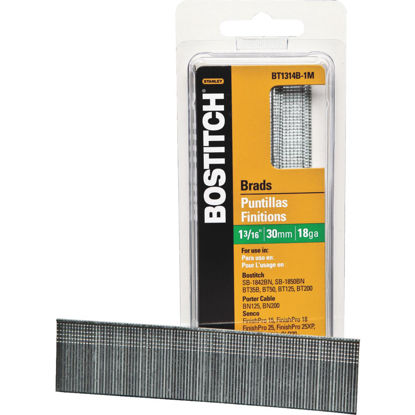 Picture of Bostitch 18-Gauge Coated Brad Nail, 1-3/16 In. (3000 Ct.)