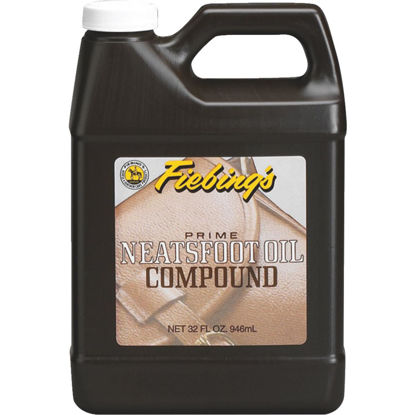 Picture of Fiebing's 32 Oz. Neatsfoot Prime Oil Compound Leather Care