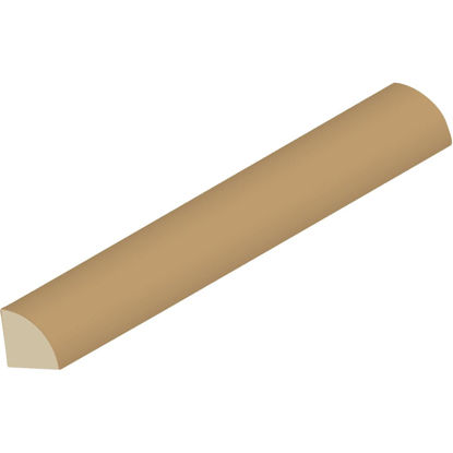 Picture of Cedar Creek WM106 Primed 11/16 In. W. x 11/16 In. H. x 96 In. L. Finger Joint Pine Quarter Round Molding