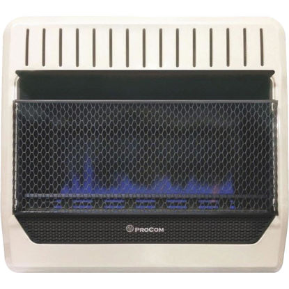 Picture of ProCom 30,000 BTU Natural Gas or Propane Gas Vent-Free Blue Flame Wall Heater