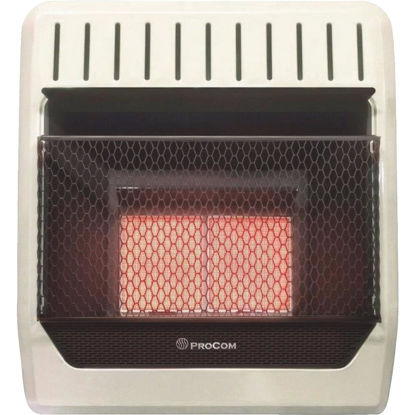 Picture of ProCom 20,000 BTU Natural Gas Vent-Free Infrared Plaque Gas Wall Heater