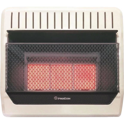 Picture of ProCom 28,000 BTU Propane Gas Vent-Free Infrared Plaque Gas Wall Heater