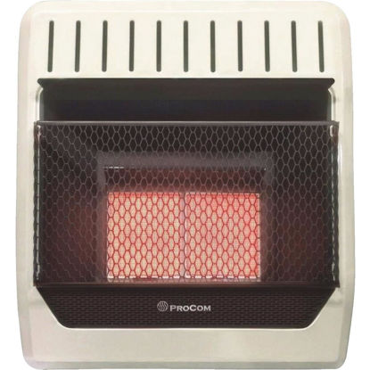 Picture of ProCom 18,000 BTU Propane Gas Vent-Free Infrared Plaque Gas Wall Heater
