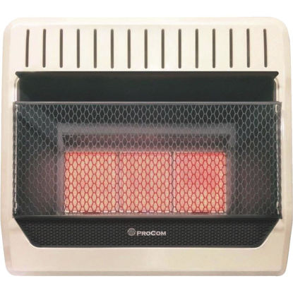 Picture of ProCom 30,000 BTU Natural Gas Vent-Free Infrared Plaque Gas Wall Heater