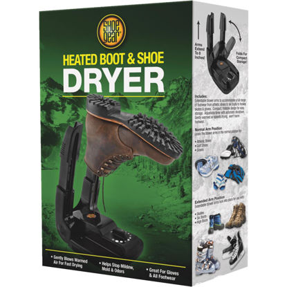 Picture of Shoe Gear High Country 8 In. H. Black Plastic Shoe, Glove, & Boot Dryer