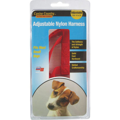 Picture of Westminster Pet Ruffin' it 14 In. to 20 In. Red Harness