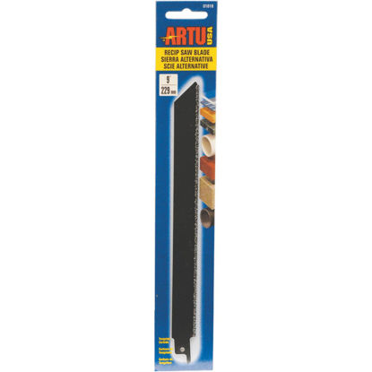Picture of ARTU 9 In. Carbide Grit Reciprocating Saw Blade