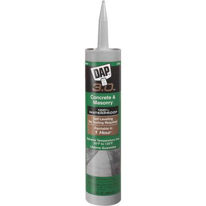 Picture of Dap 3.0 Self-Leveling 9 Oz Gray Concrete Sealant
