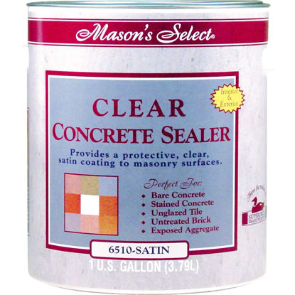 Picture of Duckback Mason's Select Clear Satin Concrete Sealer, 1 Gal.