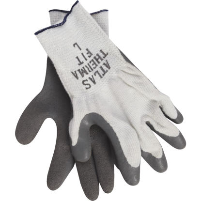 Picture of Atlas Therma-Fit Men's Large Latex-Dipped Knit Winter Glove