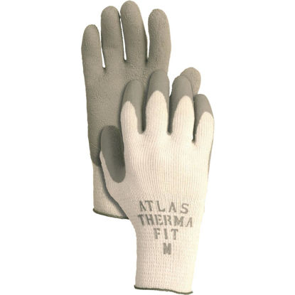 Picture of Atlas Therma-Fit Men's Medium Latex-Dipped Knit Winter Glove