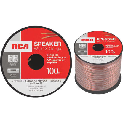 Picture of RCA 100 Ft. 18-2 Stranded Speaker Wire