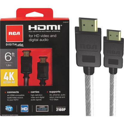 Picture of RCA 6 Ft. Digital Plus HDMI Cable