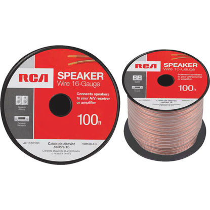 Picture of RCA 100 Ft. 16-2 Stranded Speaker Wire