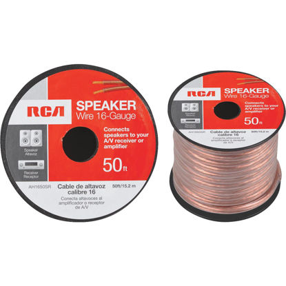 Picture of RCA 50 Ft. 16-2 Stranded Speaker Wire