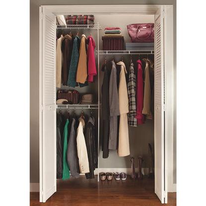 Picture of ClosetMaid 5 Ft. Shelf & Rod Closet System