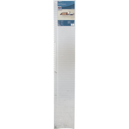 Picture of ClosetMaid 6 Ft. W. x 12 In. D Ventilated Shelf Kit, White