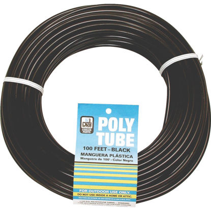 Picture of Dial 1/4 In. OD x 100 Ft. L Black Poly Tubing