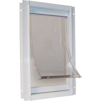 Picture of Ideal Pet 10-1/2 In. x 15 In. XL Aluminum White Pet Door