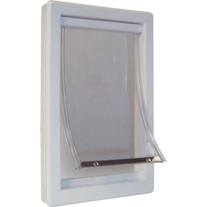 Picture of Ideal Pet 15 In. x 20 In. Super Large Plastic White Pet Door